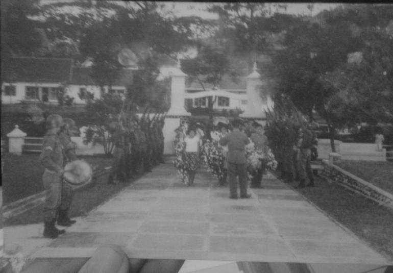 Gerbang utama TMP Giri Tunggal Semarang, 1965. Foto: koleksi pribadi