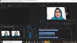 Proses Pembuatan Video Pembelajaran Bahasa Indonesia (Dokpri)