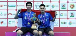 Leo dan Daniel saat jadi juara dunia junior 2019: badmintonindonesia.org