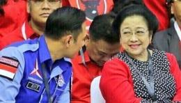 AHY-Megawati (Sumber foto SI4P/Partai Demokrat)