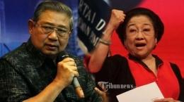 SBY-Megawati (Sumber Tribunews.com)