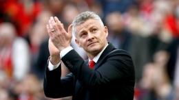 Ole Gunnar Solskjaer, manajer Manchester United. (via Skysports.com)