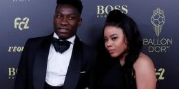 Andre Onana dan Melanie Kamayou (Sumber: wtfoot.com)