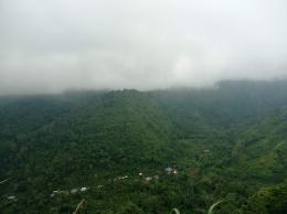 Dokumen Pribadi : Kampung Sangga Timoro desa Kampala, foto diambil dari bukit Lali' Jangang