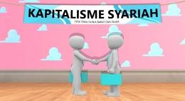 Kapitalisme Syariah Titik Temu Dunia Barat Dunia Islam. Gambar : The Walt Disney Pixal diolah pribadi