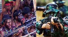 KKB - TNI (Sumber: tribunnews.com)