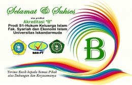 Prodi Hukum Keluarga Universitas Iskandarmuda Banda Aceh Raih Akreditasi B