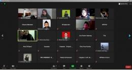Zoom Meeting Webinar Moderasi Beragama KKN UIN Walisongo kelompok 61