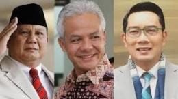 3 Capres Terkuat Saat Ini Versi New Indonesia (Sumber:akuratnews.com)