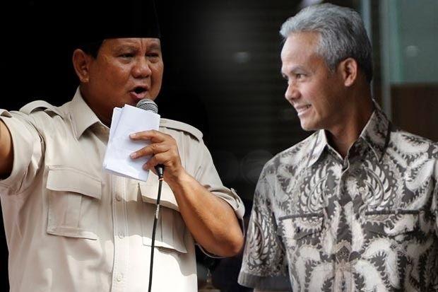 Prabowo - Ganjar (Sumber: sindonews.com)
