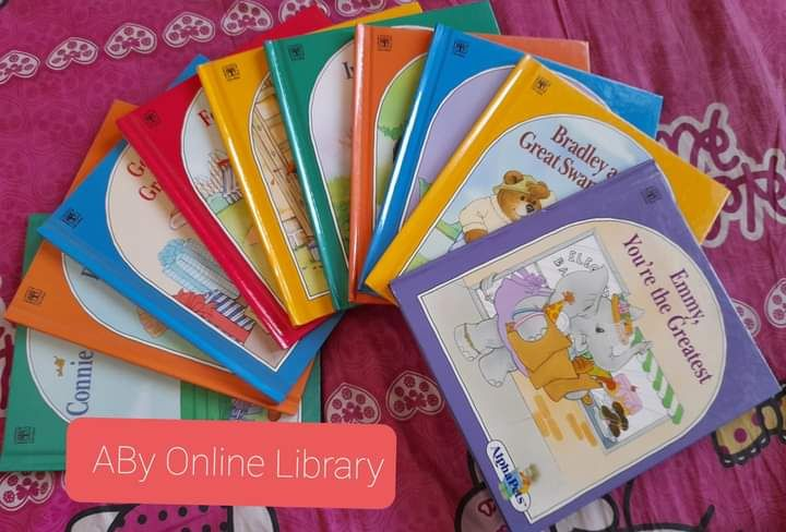 ABy Online Library - Koleksi Buku Pribadi (dokpri)