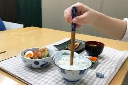 Ilustrasi Menancapkan Sumpit di atas Nasi (sumber: kompas.com)