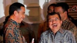 Jokowi dan JK I Gambar : Tribunnews