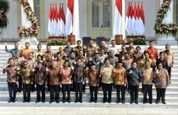 Kabinet Indonesia Maju (foto dari kominfo.go.id tertanggal 23 Oktober 2019)