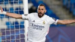 Karim Benzema. (via skysports.com)