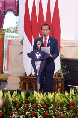 sumber gambar twitter Presiden Jokowi