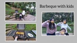 Barbeque bersama anak-anak di sore hari. (Foto : koleksi pribadi)