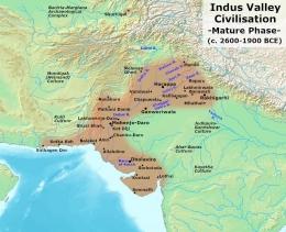 Lembah Indus (sumber: wikipedia.org)