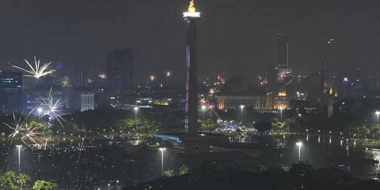 Kelap-kelip kota Metropolitan Jakarta. Foto dari Travel.Kompas.com