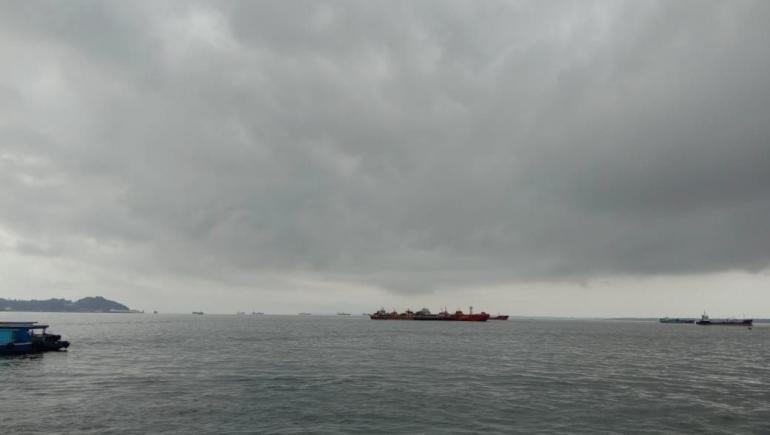 Dokumentasi Pribadi Ali Musri Syam @AMS99_Pelabuhan Speed-Kelotok Kampung Baru, Balikpapan
