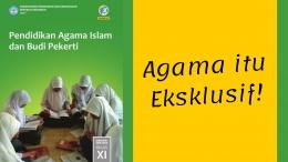 Tidak ada yang salah dengan materi tentang kitab Injil maupun Taurat dalam pelajaran agama Islam di sekolah (ilustrasi diolah pribadi)