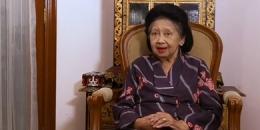 Roosminnie Salim, istri dari Emil Salim yang tutup usia pada Sabtu (27/2/2021)