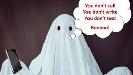 Ilustrasi ghosting (sumber: integreship.com)
