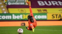 Edouard Mendy. (via AFP)