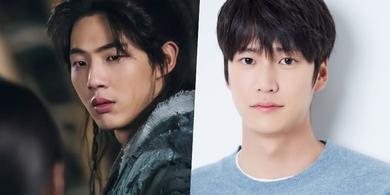 Na In Woo (kanan) bakal gantikan posisi Ji Soo (kiri) di drama Korea River Where The Moon Rises