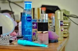 Beberapa produk kosmetik. (Foto oleh Kazena Krista/Dok. Pribadi)