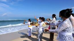 Gambar.tirto.id/Umat Hindu Bali