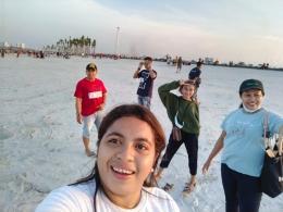 Pantai Pasir Putih PIK2. Foto oleh Marsela Binsasi