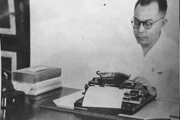 Bung Hatta, penulis yang produktif (Foto: republika.co,id)
