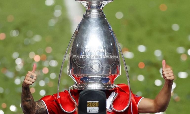 Bayern Munchen meraih trofi Liga Champions di musim 2019/2020-Sumber: dailymail.co.uk