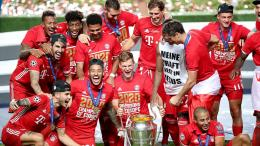 Bayern Munchen meraih trofi Liga Champions ke-6-Sumber: fcbayern.com