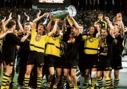 Dortmund meraih piala Liga Champions perdana di musim 1996/97-Sumber: dortmund.de