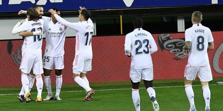 Real Madrid berambisi untuk memenangkan laga saat bertandang ke markas Celta Vigo, Sabtu, 20/3/2021, pukul 22.15 WIB. Foto dari Bola.net.