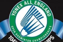 Logo resmi All England 2021 (Sumber: Youtube AllEnglandBadminton via Kompas.com)