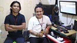 Zulpadli Damas dan Luddy Roos, Operational Manager dan untuk urusan produksi visual dan audio di Indonesia Records. (Dok. Istimewa/dokpri)