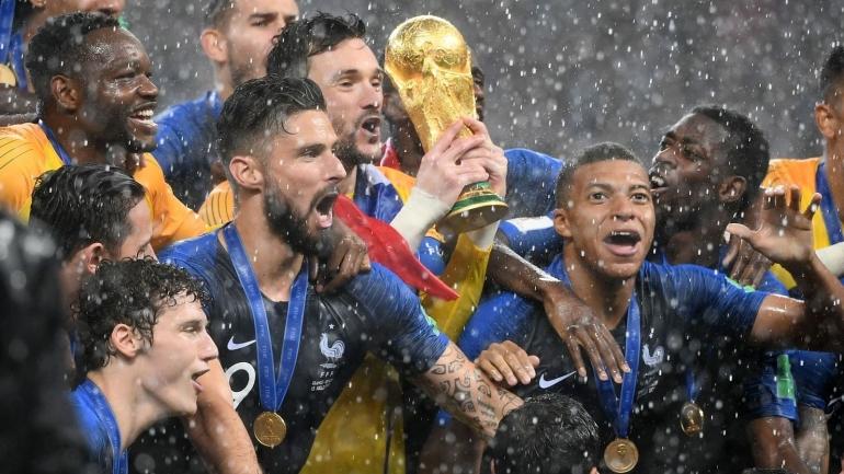 Juara bertahan Piala Dunia 2018, Prancis (Foto Skysports)