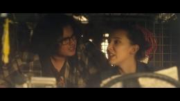 Salah satu scene di trailer yang menampilkan Millie Bobby Brown (Sumber: tangkapan laya pribadi)