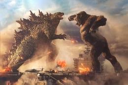Godzilla vs. Kong (Sumber: Kompas.com)