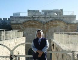 Pintu Timur Yerusalem Kuno ( dok pri )