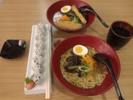 Shoyu dan Curry Ramen di Yagami Ramen. sumber dokpri