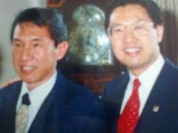 ket.foto: bersama James Ryadi, putra pemilik Lippo grup/dokumentasi pribadi