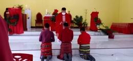 foto.dok.pribadi/Misa Minggu Palma di Kuneru Atambua