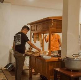 Angkringan kuno Jalan Ahmad Yani 138, Bogor. / dokpri