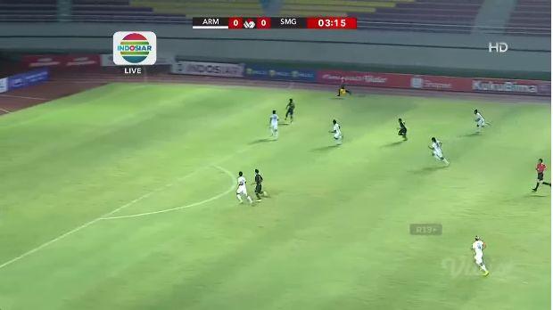 Laga Arema FC vs PSIS Semarang Di Piala Menpora-Sumber: vidio.com