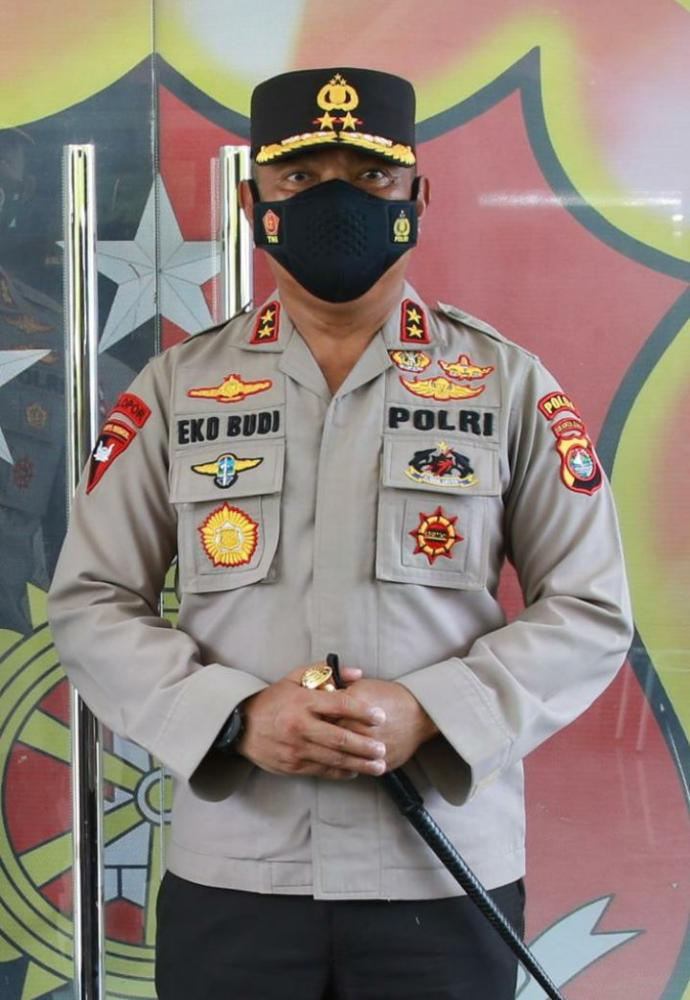 Irjen Pol Dr Eko Budi Sampurno MSi Kapolda Sulbar (Foto:Istimewa)