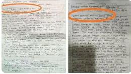 Surat Lukman dan Zakiah Aini. (Foto: Twitter/KRMTRoySuryo2)